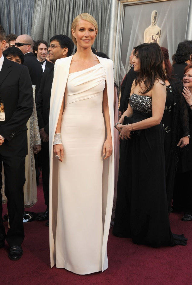 Gwyneth Paltrow in Tom Ford at the 2012 Academy Awards (Oscars)