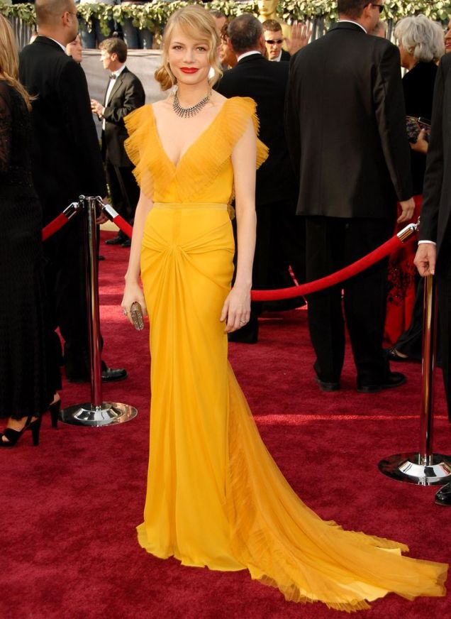 Michelle Williams in Vera Wang at the 2006 Academy Awards (Oscars)