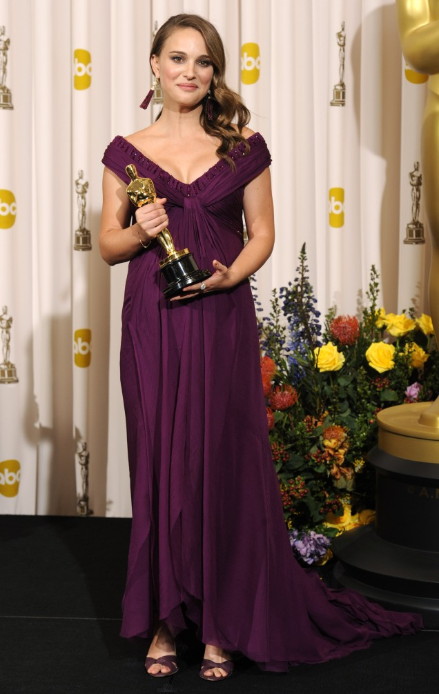 Natalie Portman in Rodarte at the 2011 Academy Awards (Oscars)