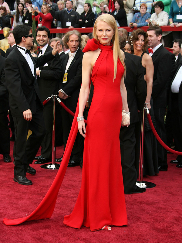 Nicole Kidman in Balenciaga at the 2007 Academy Awards (Oscars)