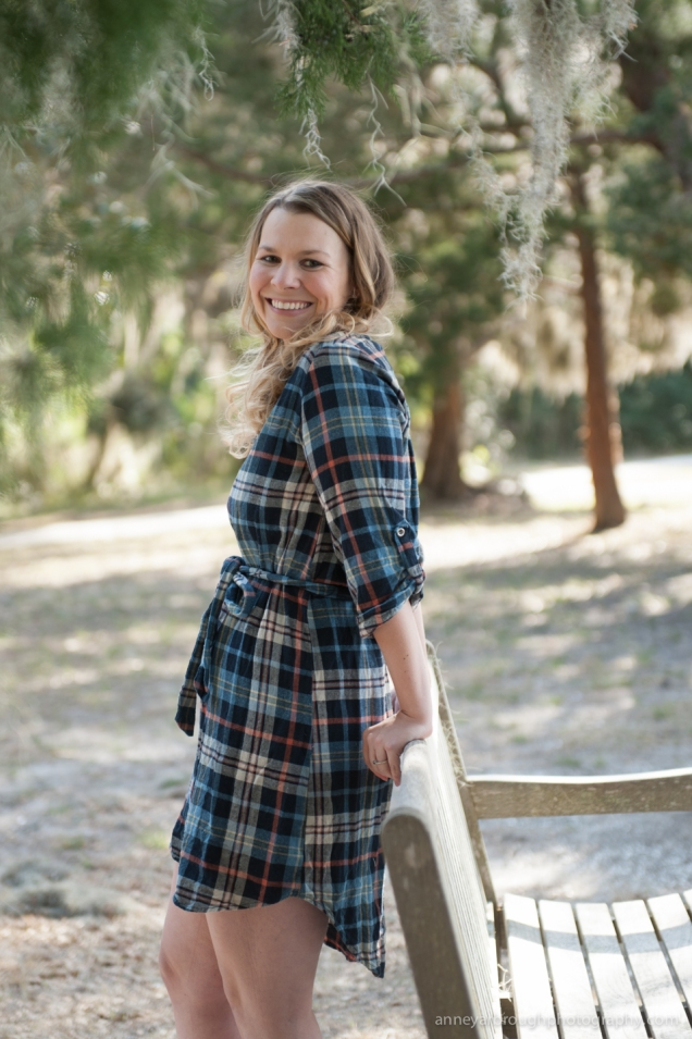 Flannel Dress & Frye Boots