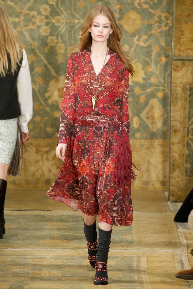 NYFW Tory Burch // Fall 2015