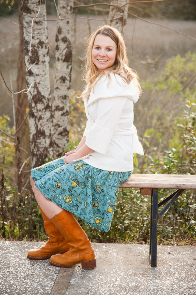 Wild Souls :: Effie's Heart Skirt, Wrap Jacket, Frye Boots
